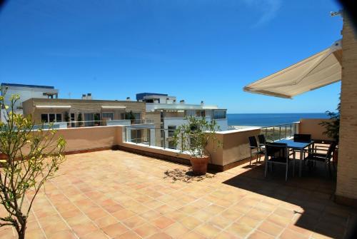 Apartamento Turístico, Ático 7 Central (3d+2b), Punta del Moral (HUELVA), Paseo de la Cruz nº22